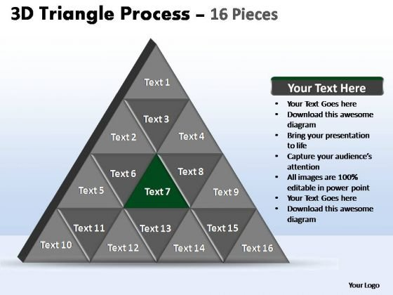 PowerPoint Slide Diagram Triangle Process Ppt Slide Designs
