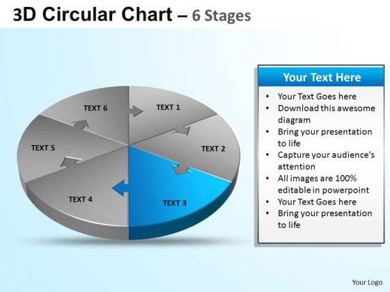 PowerPoint Slide Download Circular Ppt Design