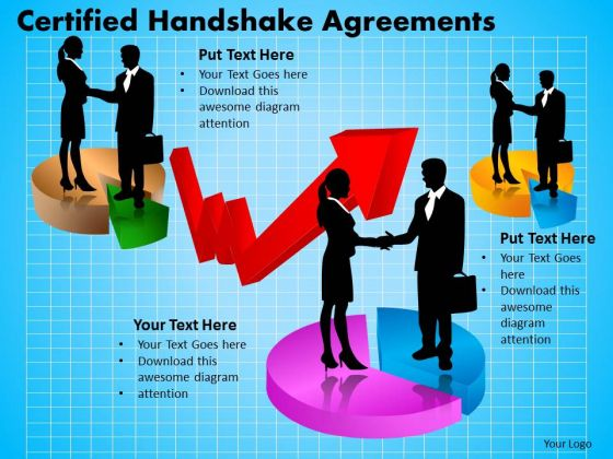 PowerPoint Slide Editable Certified Handshake Ppt Layouts