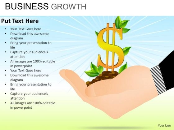 PowerPoint Slide Education Business Growth Ppt Slide