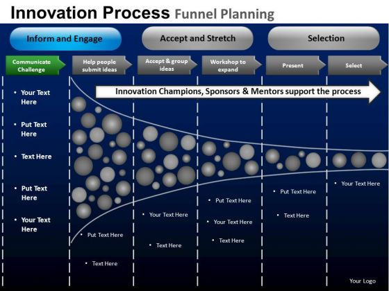 PowerPoint Slide Executive Teamwork Targets Funnel Planning Ppt Theme