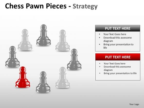PowerPoint Slide Global Chess Pawn Ppt Theme