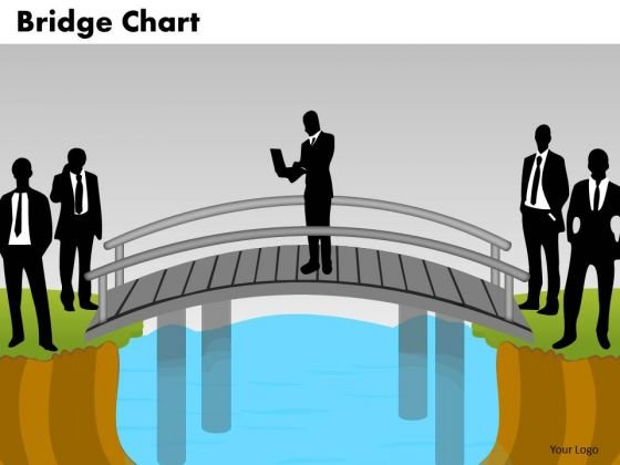 PowerPoint Slide Graphic Bridge Chart Ppt Template