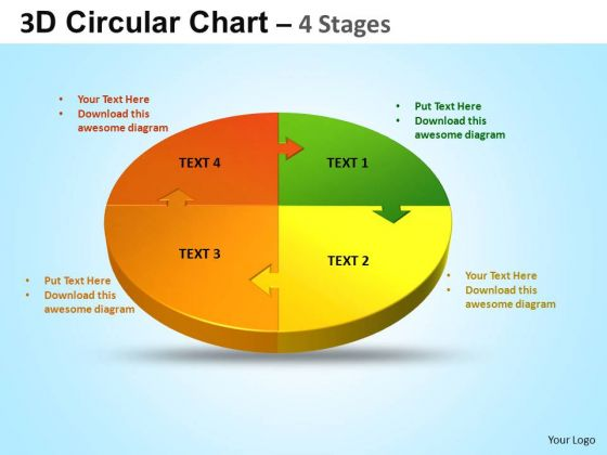 PowerPoint Slide Graphic Circular Ppt Design