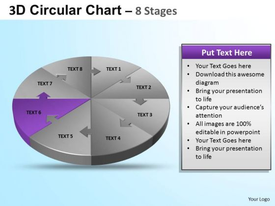 PowerPoint Slide Graphic Circular Ppt Slide