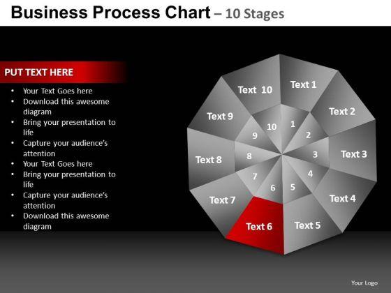 PowerPoint Slide Graphic Pie Chart Ppt Slide
