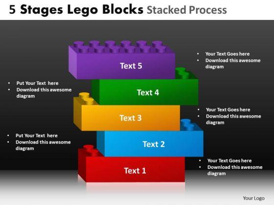 PowerPoint Slide Growth Lego Blocks Ppt Designs