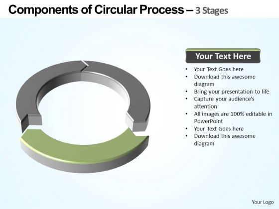 PowerPoint Slide Image Components Of Circular Ppt Design