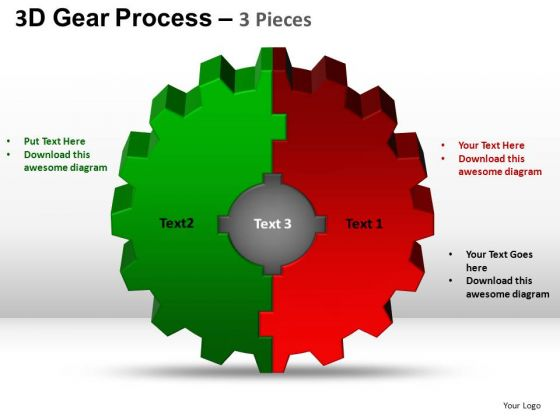 PowerPoint Slide Image Gear Process Ppt Layout