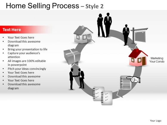 PowerPoint Slide Image Home Selling Ppt Slide