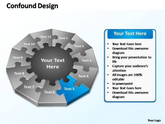 PowerPoint Slide Layout Chart Confound Design Ppt Slide