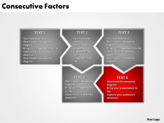 PowerPoint Slide Layout Company Consecutive Factors Ppt Slide