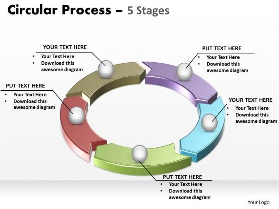PowerPoint Slide Layout Diagram Circular Process Ppt Design