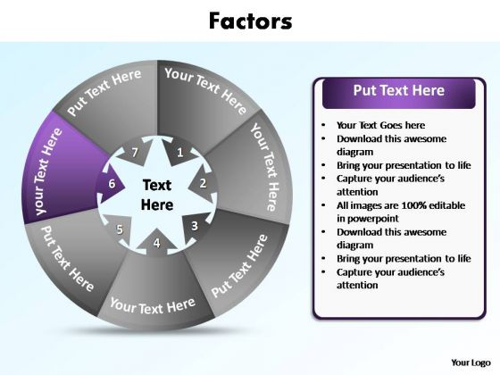 PowerPoint Slide Layout Graphic Contributing Factors Ppt Presentation