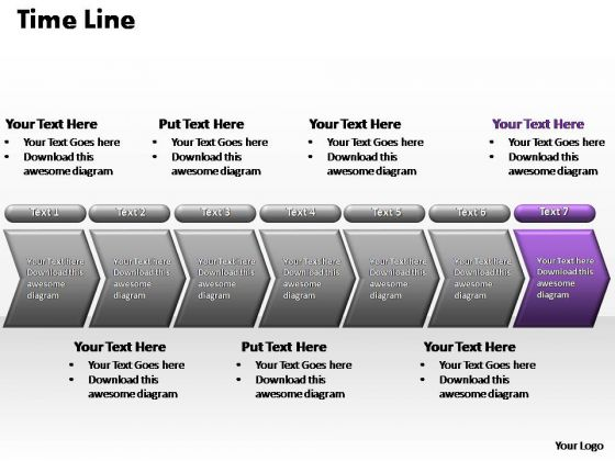 PowerPoint Slide Layout Graphic Flow Process Ppt Backgrounds