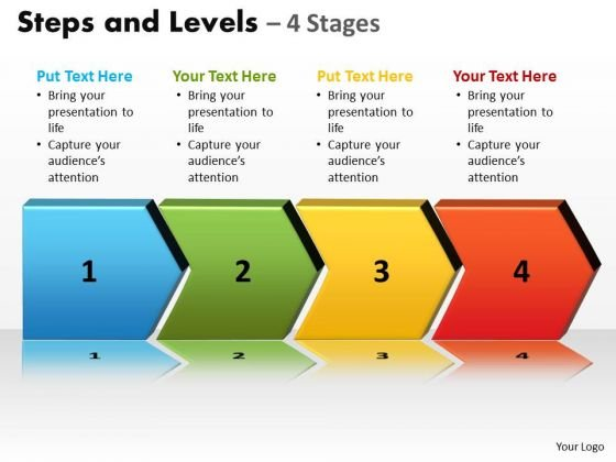 PowerPoint Slide Layout Graphic Steps And Levels Ppt Themes
