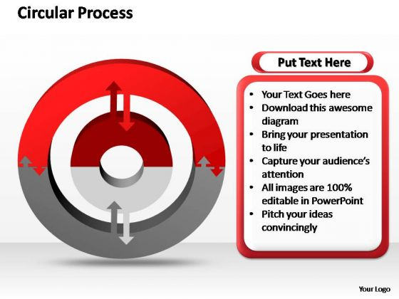 PowerPoint Slide Layout Process Circular Ppt Slides