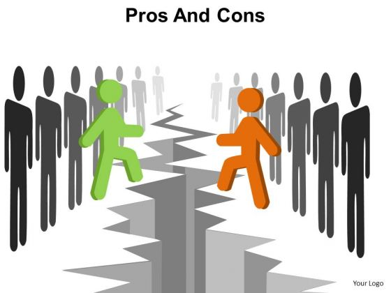 PowerPoint Slide Layout Strategy Pros And Cons Ppt Slides