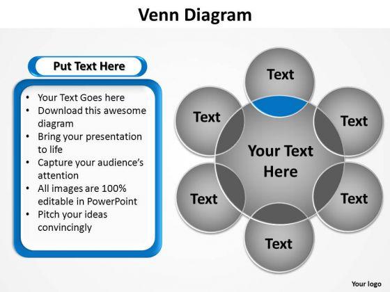 PowerPoint Slide Layout Success Venn Diagram Ppt Template