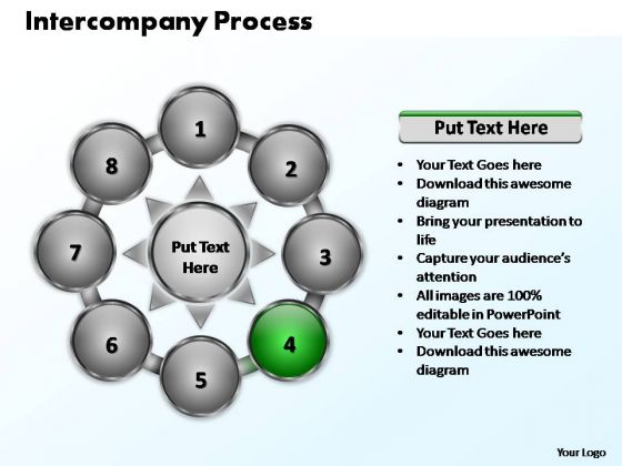 PowerPoint Slide Leadership Intercompany Process Ppt Themes