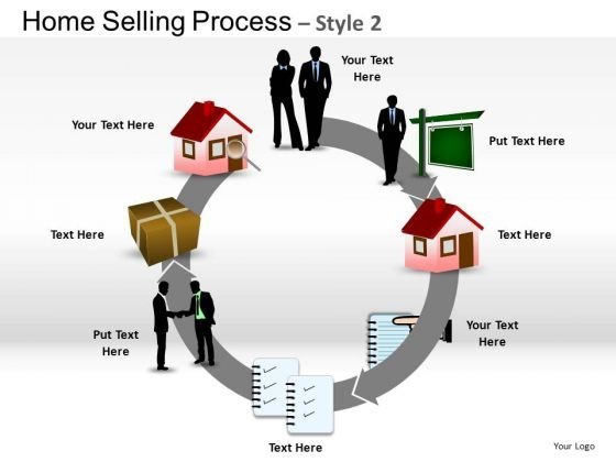 PowerPoint Slide Marketing Home Selling Ppt Theme