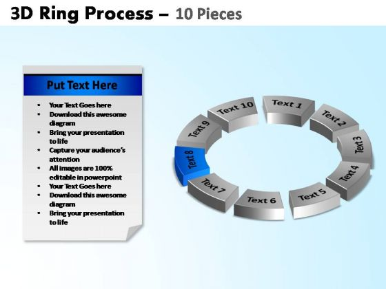 PowerPoint Slide Marketing Ring Process Ppt Theme