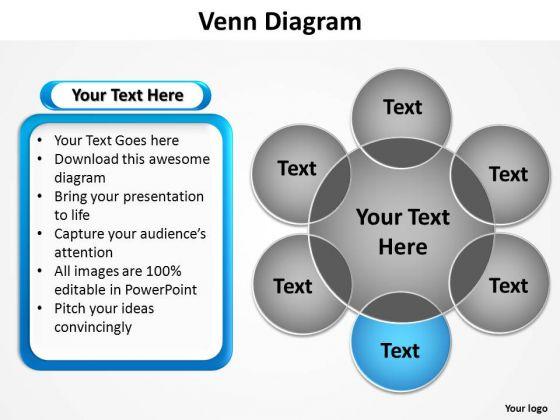 PowerPoint Slide Marketing Venn Diagram Ppt Theme