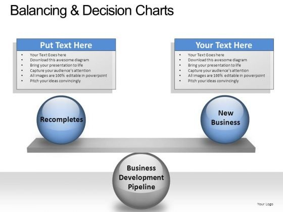 PowerPoint Slide Process Balancing Decision Ppt Slide