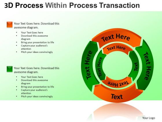 PowerPoint Slide Process Cycle Diagram Ppt Design Slides