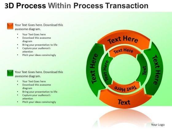 PowerPoint Slide Process Cycle Diagram Ppt Design Slides
