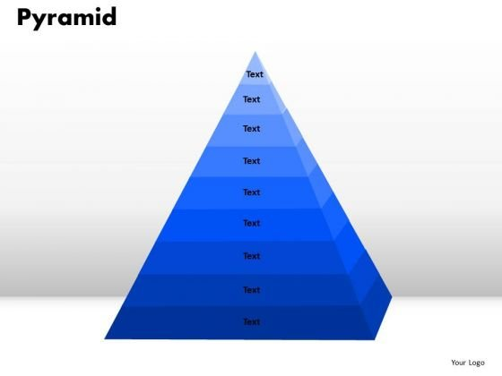 PowerPoint Slide Pyramid Business Ppt Slides