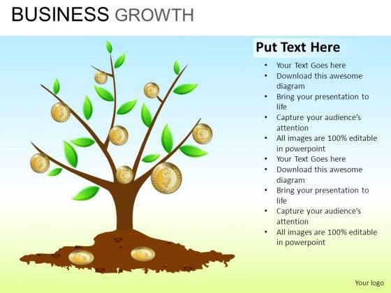 PowerPoint Slide Sales Business Growth Ppt Slide