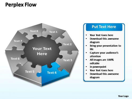 PowerPoint Slide Sales Perplex Flow Ppt Designs