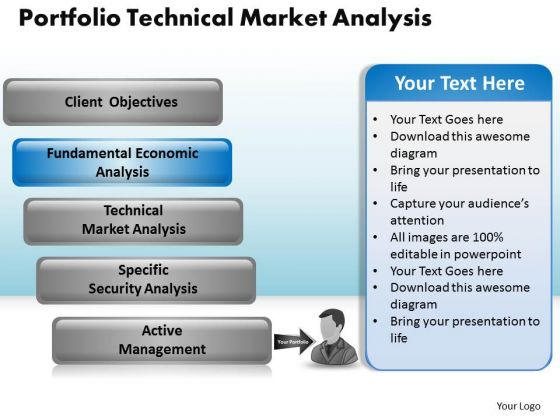 PowerPoint Slide Strategy Growth Portfolio Technical Market Ppt Layouts