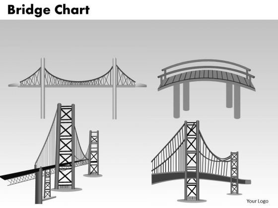 PowerPoint Slide Success Bridge Chart Ppt Template