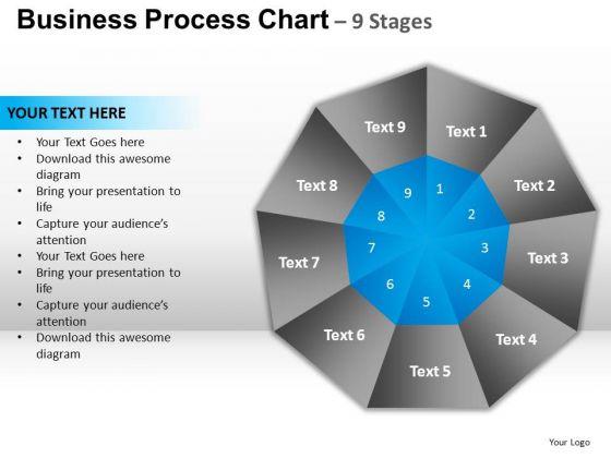 PowerPoint Slide Success Circular Quadrant Ppt Backgrounds