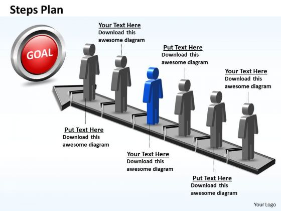 PowerPoint Slide Success Steps Plan 6 Stages Style 5 Ppt Presentation