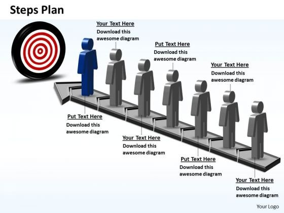 PowerPoint Slide Success Steps Plan 7 Stages Style 6 Ppt Proccess