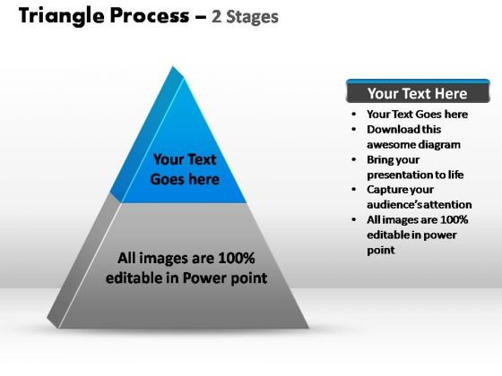 PowerPoint Slide Success Triangle Process Ppt Design