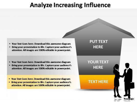 PowerPoint Slide Teamwork Analyze Increasing Ppt Backgrounds