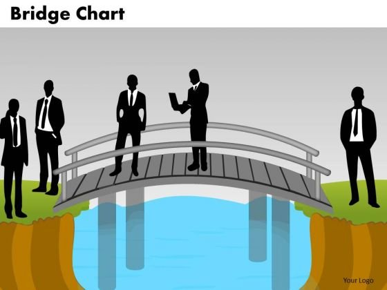 PowerPoint Slide Teamwork Bridge Chart Ppt Slide Designs