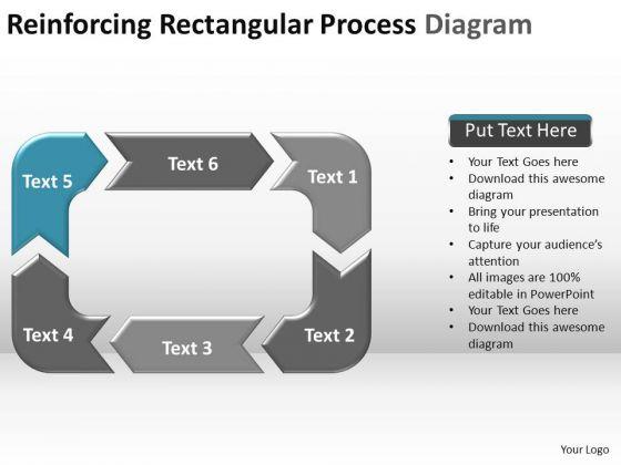PowerPoint Slide Teamwork Reinforcing Process Ppt Theme