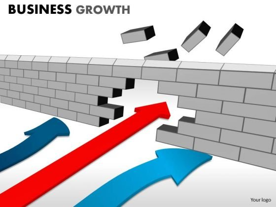 PowerPoint Slidelayout Business Growth Ppt Layout