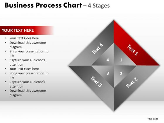 PowerPoint Slidelayout Chart Business Process Ppt Slide