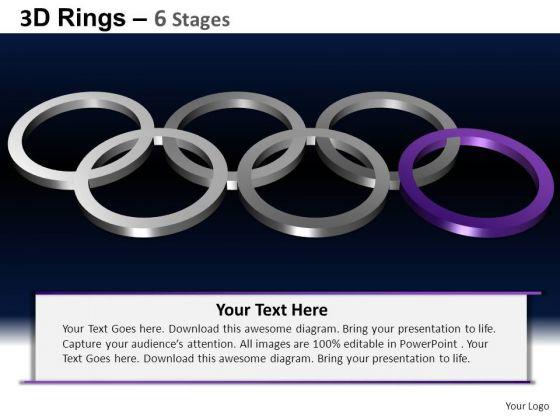 PowerPoint Slidelayout Chart Rings Ppt Design