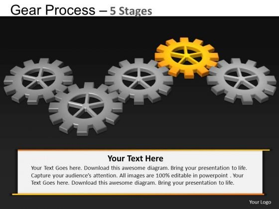 PowerPoint Slidelayout Company Gears Process Ppt Theme