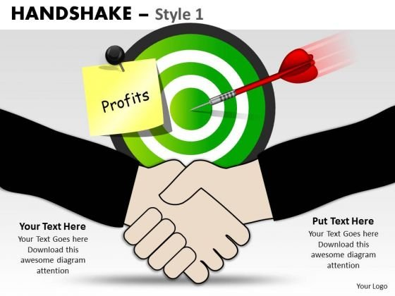 PowerPoint Slidelayout Company Handshake Ppt Process