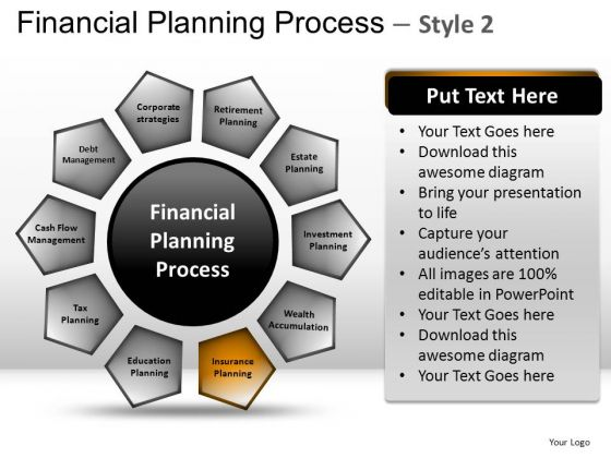 PowerPoint Slidelayout Company Success Financial Planning Process Ppt Slide