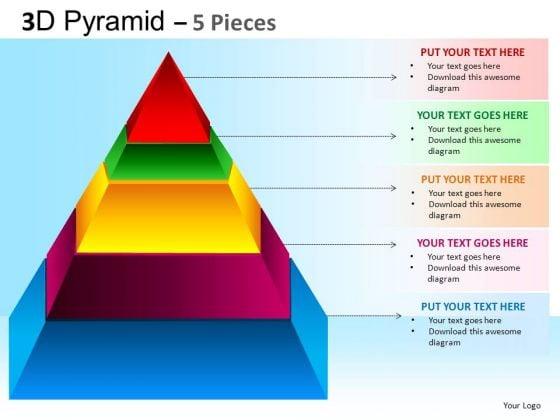 PowerPoint Slidelayout Corporate Designs Pyramid Ppt Designs