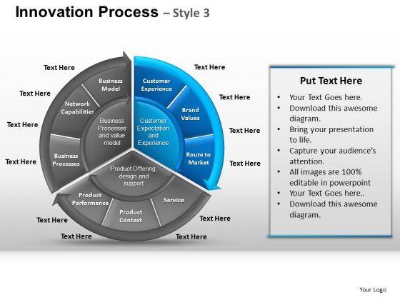 PowerPoint Slidelayout Diagram Pie Chart Ppt Layout